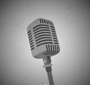 monochrome-microphone-vector-image_23-2147734191